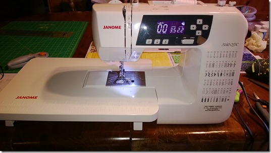Janome 3160QDC from 2011
