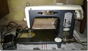 Wizard Sewing Machine from Western Auto